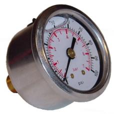 Fuel Pressure Gauge 1-7 Bar, Sytec  (Glycerine Filled)