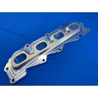 Ford Zetec Inlet Manifold Flange with Injector Bores (Twin)