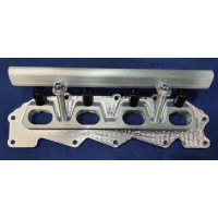 Ford Zetec Inlet Manifold Flange & Fuel Rail Assembly