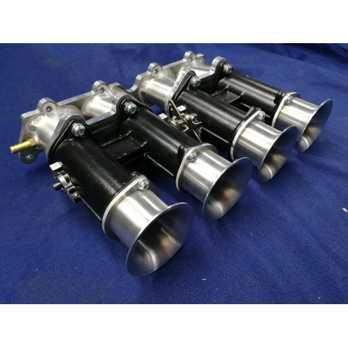 Toyota 4AGE 20V Throttle Body Plate /& 4AGE Blacktop 50mm Velocity Stack Kit
