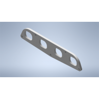 Toyota 3SGE & 3SGTE Rev 5 BEAMS Inlet Manifold Flange Plate ALUMINIUM