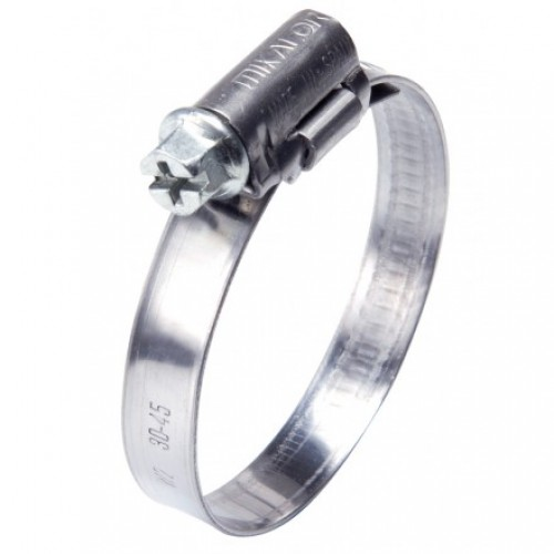 Mikalor W2 40-60mm 12mm Wide Stainless Steel Hose Clamp