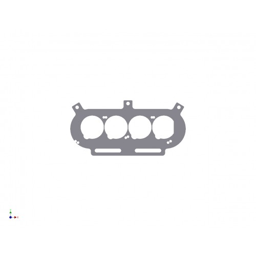 pipercross px600 baseplate to suit zx6r carburettors