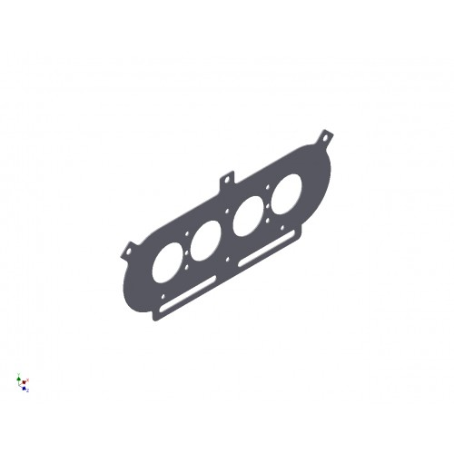 Pipercross PX600 Baseplate to suit ZX7/ZX9R Carburettors