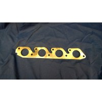 Ford 1.4/1.6 CVH Exhaust Manifold Flange Plate Stainless Steel (ROUND PORT)