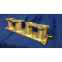 Ford Duratec Inlet manifold to suit Weber/Jenvey DCOE Throttle bodies, 20deg