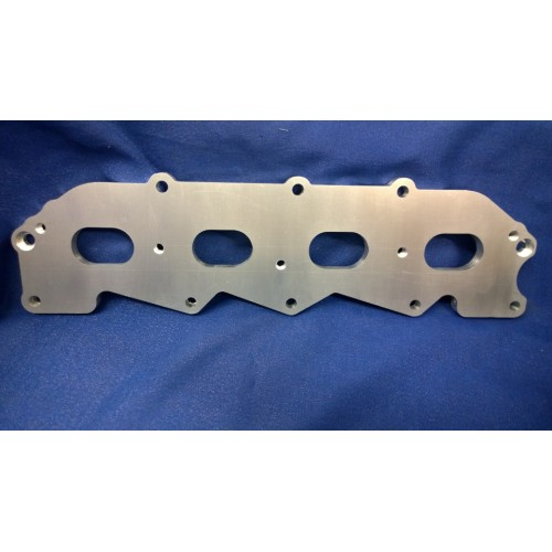 Ford 1.6 1.8 2.0 ZETEC to Crossflow Inlet Manifold Adapter Plate