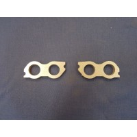 Ford Pre-Crossflow Inlet Manifold Flange Plate ALUMINIUM