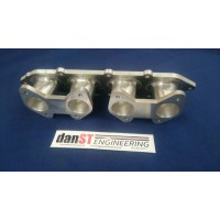 Ford Zetec E Inlet Manifold to Suit Jenvey/Weber Throttle Bodies, 20degs
