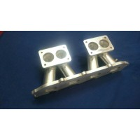 Ford ZETEC E Inlet Manifold Inlet Manifold to Suit Twin Weber DCNF Downdraft Carburettors