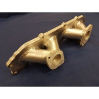 Ford ZETEC E Inlet Manifold Inlet Manifold to Suit Twin SU Carburettors