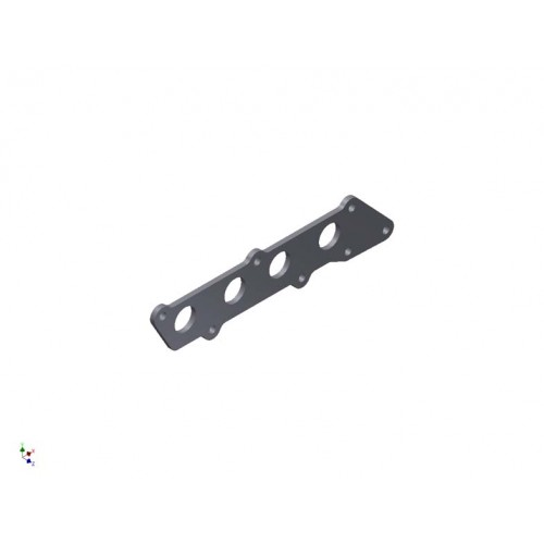 Ford 1.8/ 2.0/ 2.3 Duratec Exhaust Manifold Flange Plate MILD STEEL