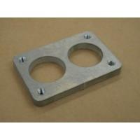DCNF 40mm Weber Flange Plate Aluminium