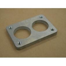 38DGAS (38DGMS) Weber Flange Plate Aluminium