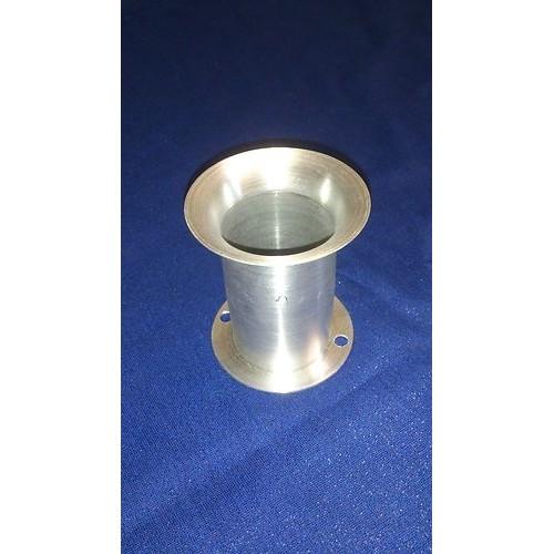 50mmDia, 90mm long Universal Intake Velocity Stack (Trumpet), Flange Mount