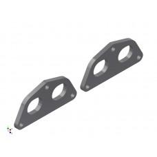 Toyota 3SGE REV 2 Exhaust Manifold Flange Plate MILD STEEL