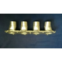 Peugeot 106 GTI, Saxo VTS & C2 VTS (TU5 16v) Inlet Manifold to Suit Std Spaced GSXR750/1000 Throttle Bodies