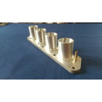 Vauxhall C20XE Inlet Manifold to suit re-spaced GSXR Throttle Bodies