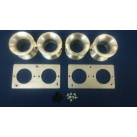 Velocity Stack Kit for 4AGE 20v Blacktop Throttle Bodies 90mm Long