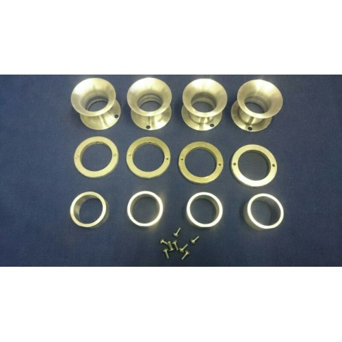 Velocity Stack Kit for ZX12R Throttle Bodies 50mm Long
