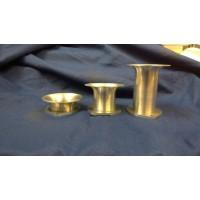 Universal Intake Velocity Stack Trumpet, 50mm Dia, Flange Mount,