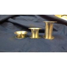 Universal Intake Velocity Stack Trumpet, 40mmDia, Flange Mount,