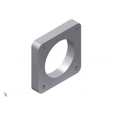 Jenvey 'SF' Throttle Body Manifold Flange Plate 42mm, ALUMINIUM