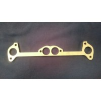 Ford Crossflow Exhaust Manifold Flange Plate STAINLESS STEEL