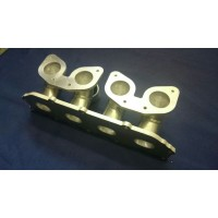 Ford ZETEC E Inlet Manifold Inlet Manifold to Suit Twin Weber IDF Downdraft Carburettors