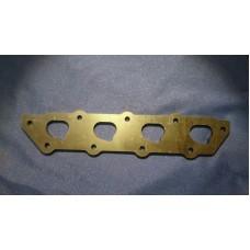 Ford Zetec HEAVY DUTY Exhaust Manifold Flange Plate MILD STEEL
