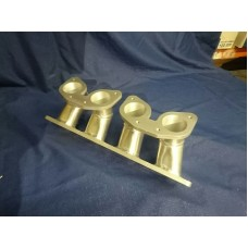 Ford YB Cosworth Inlet Manifold Inlet Manifold to Suit Twin Weber IDF Downdraft Carburettors
