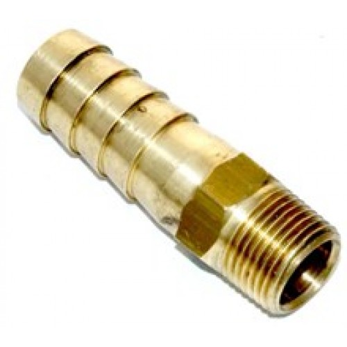 10mm Hosetail (vacuum connection), 1/8th BSPT Thread (supplied loose)